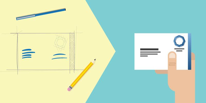 business card design • drimlike • creative digital agency