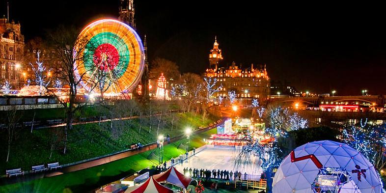 Edinburgh zur Weihnachtszeit - 5 Dinge, die Sie auf jeden Fall machen sollten