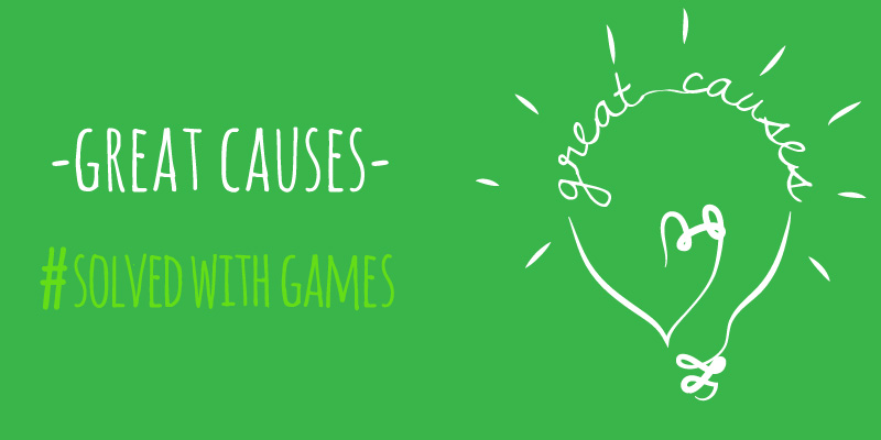 Great Causes #SolvedWithGames