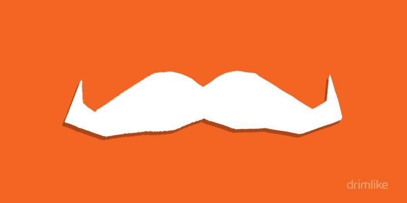 Movember: Un mes en la vida de un bigote de Drimlike