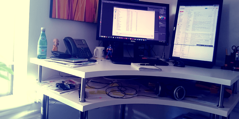 The Corner Standing Desk: Innovation Station