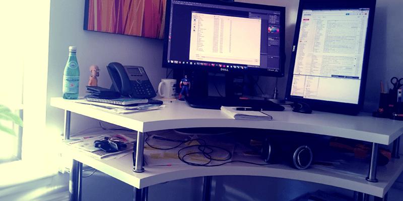 The Corner Standing Desk: Innovation Station